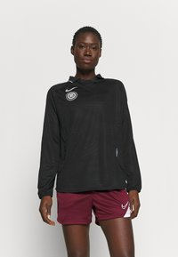 Nike Performance - Long sleeved top - black/reflective silver - 0
