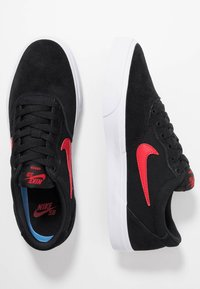 Nike SB - CHRON SLR UNISEX - Trainers - black/university  red - 1