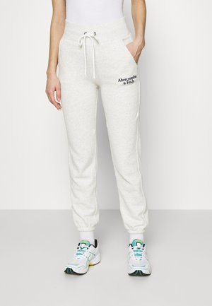 LOGO - Pantaloni sportivi - light grey