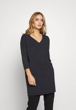 ROMPOOL - Žerzejové šaty - carbone vintage