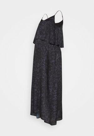 HIDE & PEEK NURSING DRESS - Day dress - anthracite/purple