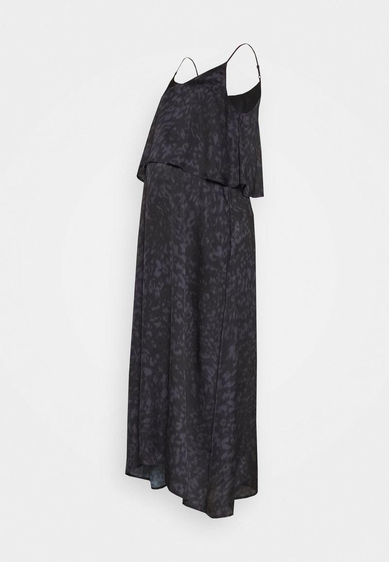 GLOWE - HIDE & PEEK NURSING DRESS - Vapaa-ajan mekko - anthracite/purple