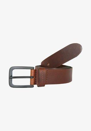 MIT KLASSISCHER DORNSCHLIESSE - Belt - brown