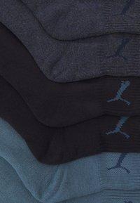 Puma - SHORT CREW UNISEX 6 PACK - Calcetines de deporte - denim blue - 1
