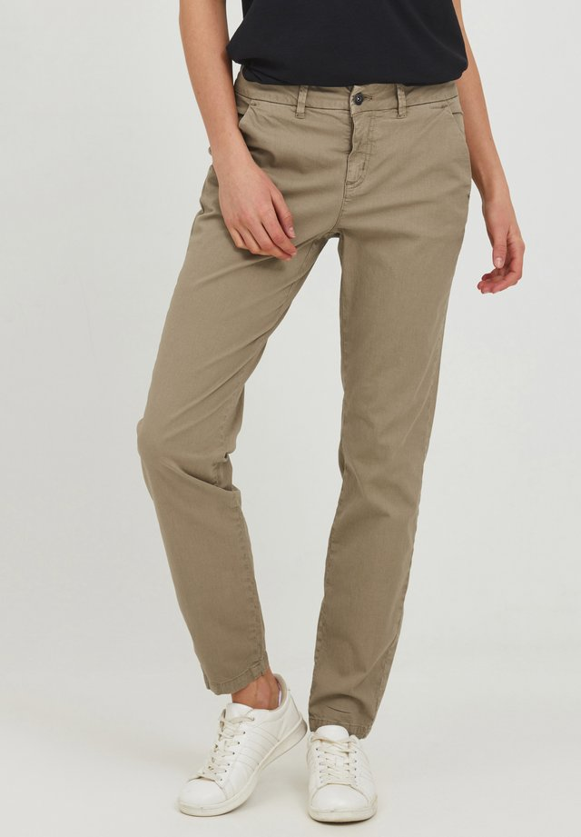CHILLI - Chinos - silver mink