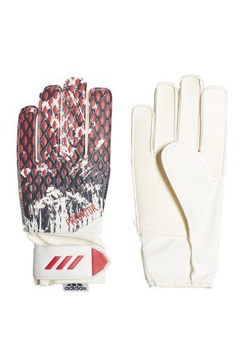 PREDATOR 20 MANUEL NEUER TRAINING GOALKEEPER GLOVES - Goalkeeping gloves - white