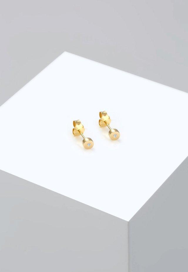 GEO BASIC - Earrings - gold-coloured