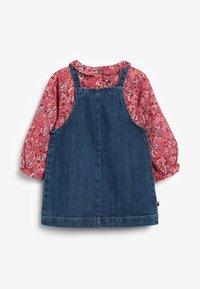 Next - DISNEY MINNIE MOUSE PINAFORE SET - Denim dress - dyed denim - 2
