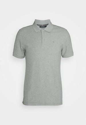 TROY SEASONAL - Polo shirt - stone grey melange