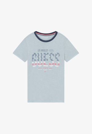 JUNIOR - T-shirt med print - best coast blue