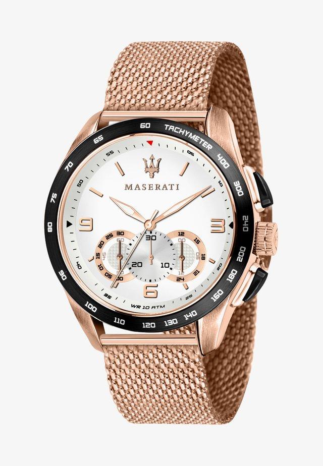 TRAGUARDO - Chronograph watch - roségold