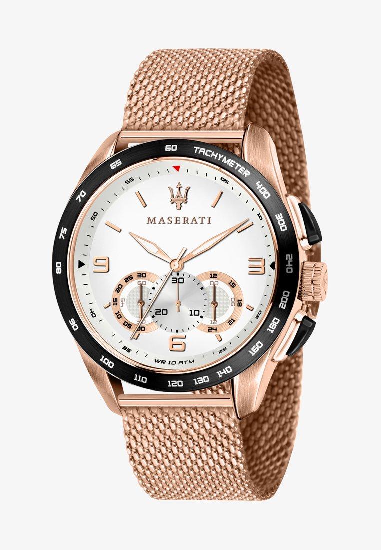 Maserati - TRAGUARDO - Chronograph watch - roségold