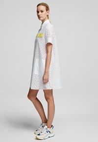 KARL LAGERFELD - Shirt dress - white - 3