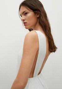 Mango - COQUET - Maxi dress - blanc - 3