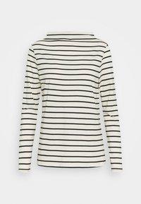 Esprit - STRIPE TEE - Long sleeved top - off white - 0