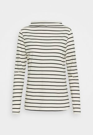 STRIPE TEE - Long sleeved top - off white