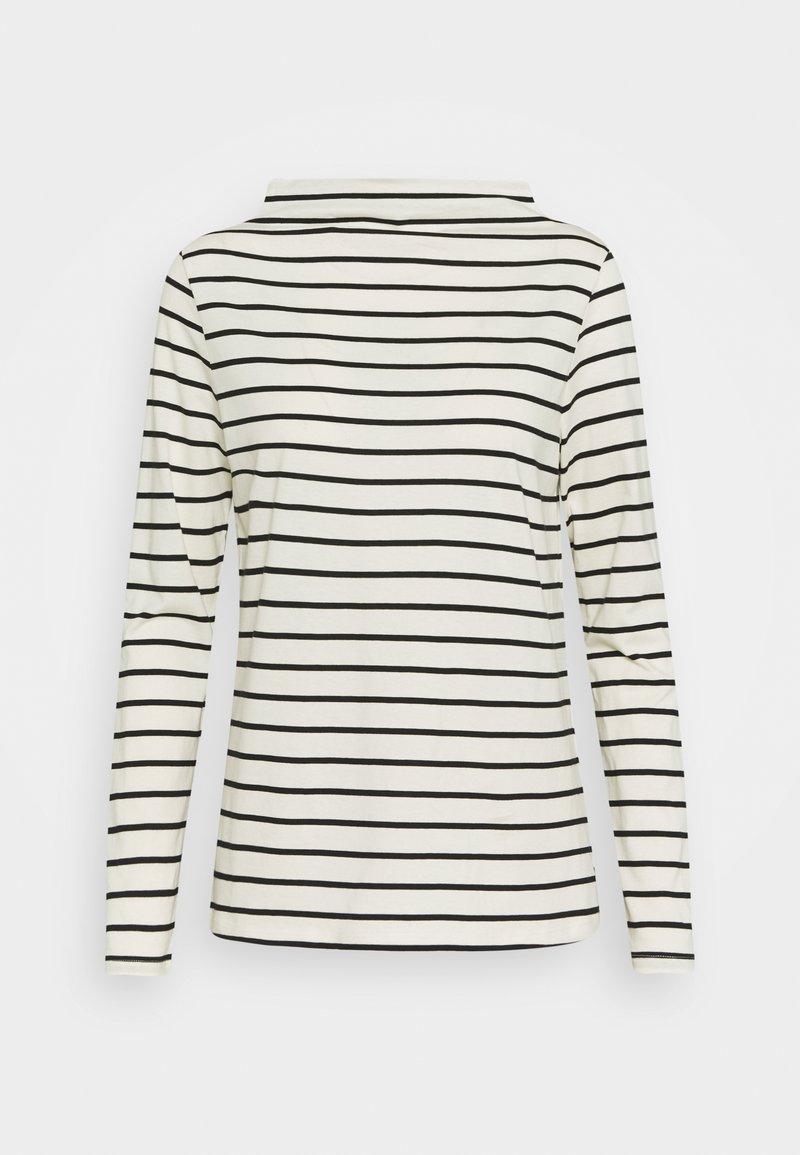 Esprit - STRIPE TEE - Long sleeved top - off white