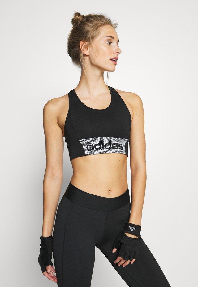 Brassières de sport à maintien normal - black/white