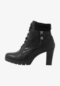 TOM TAILOR - Kotníková obuv - black - 1