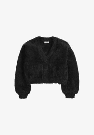 FLUFFY - Cardigan - black
