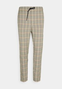 Only & Sons - ONSLINUS CROPPED CHECK PANT - Pantaloni - wind chime - 3