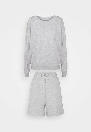 ONLKAPPI SET - Sweatshirt - light grey melange
