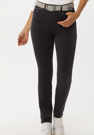 STYLE LAVINA - Slim fit jeans - anthra