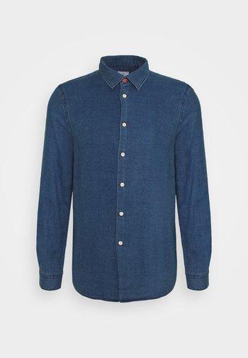MENS REGULAR FIT SHIRT TRIM - Camisa - denim blue