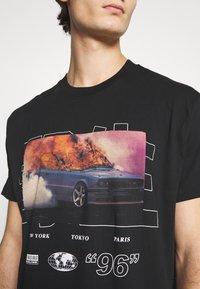 Night Addict - NAWILD - Print T-shirt - black - 5