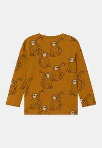 Lindex - MINI MONKEY - Langærmede T-shirts - dark dusty yelloy - 1