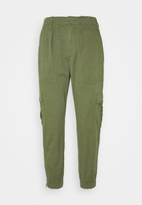 GAP Petite - CARGO UTILITY JOGGER - Cargo trousers - olive - 3
