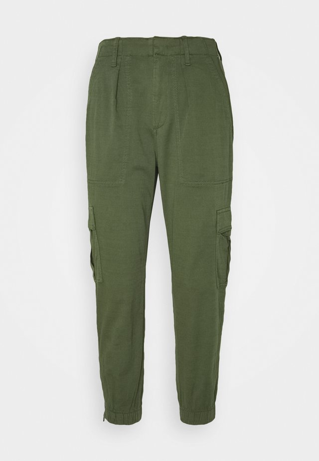 CARGO UTILITY JOGGER - Cargo trousers - olive