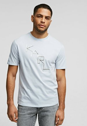 Print T-shirt -  artic ice