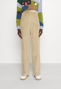 WEEKEND MaxMara - GHIGLIA - Trousers - sand - 0