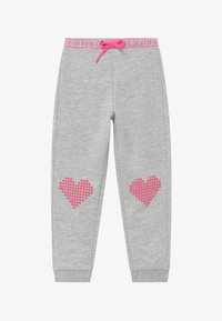 Blue Seven - KIDS HEARTS  - Tracksuit bottoms - nebel - 2