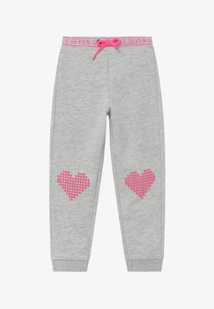 KIDS HEARTS  - Tracksuit bottoms - nebel