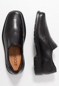 ECCO - Nazouvací boty - black - 1