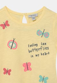 OVS - PACK 2 - T-shirt print - lemon meringue/holiday - 3