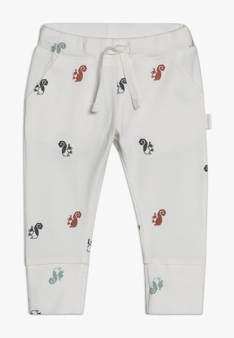 Noppies - SLIM FIT PANTS - Trousers - whisper white