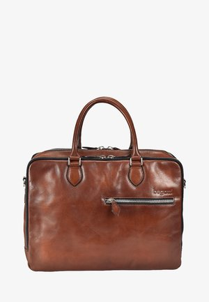 DOMUS - Briefcase - cognac