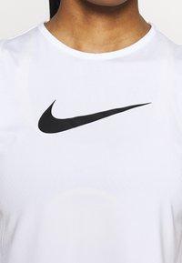 Nike Performance - TANK OPEN - Camiseta de deporte - white - 5