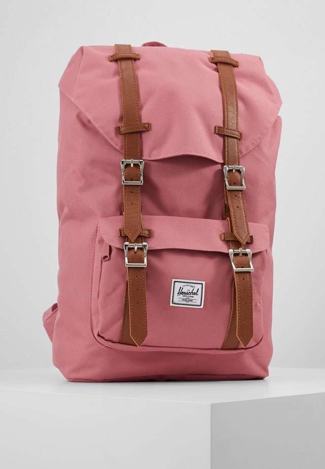 LITTLE AMERICA MID VOLUME - Rucksack - heather rose