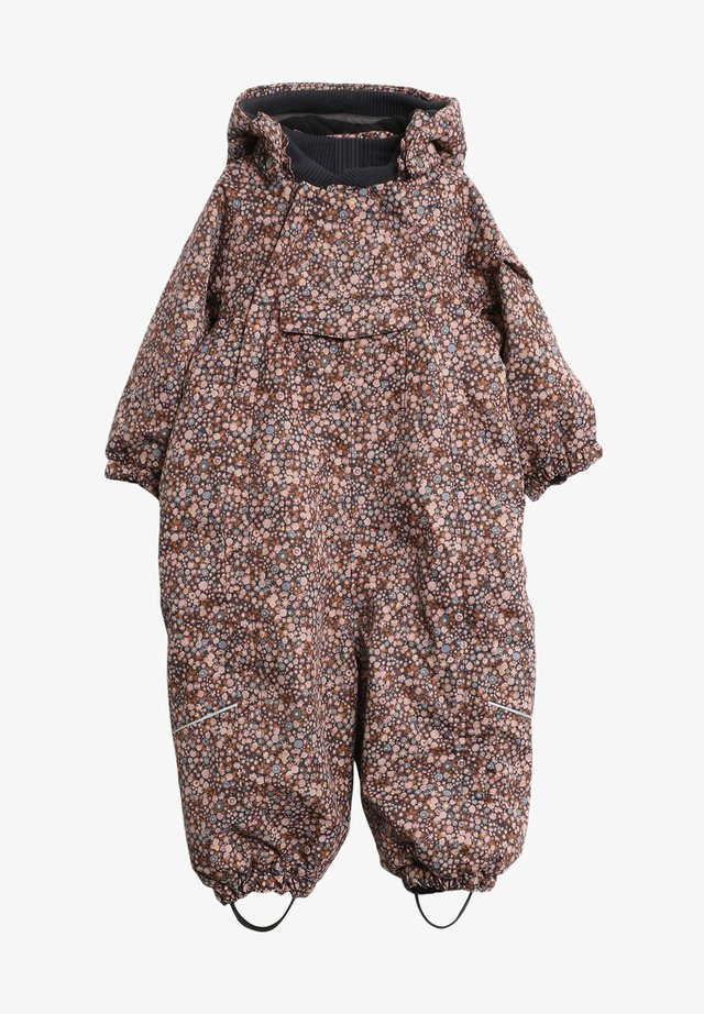 ADI TECH - Snowsuit - dot flowers