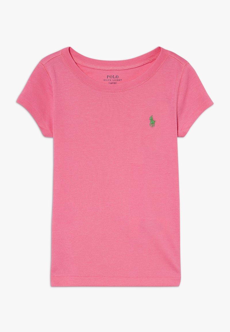 Polo Ralph Lauren - TEE - Camiseta básica - baja pink/cycle green