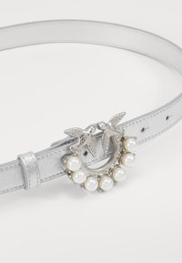Pinko - BERRY SMALL BELT - Belt - silver - 3