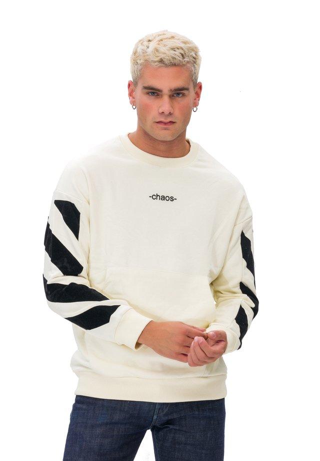 KAPUZENSWEATSHIRT MAN SWEATSHIRT - Sweatshirt - white