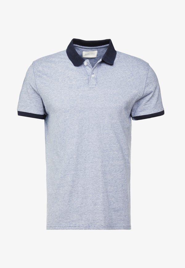 Pier One Koszulka polo - dark blue/granatowy Odzież Męska JARM