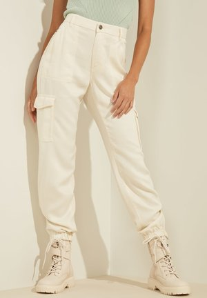 Cargo trousers - creme