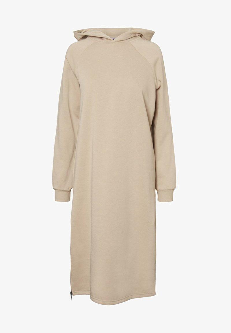 Noisy May - NMHELENE DRESS - Day dress - white pepper