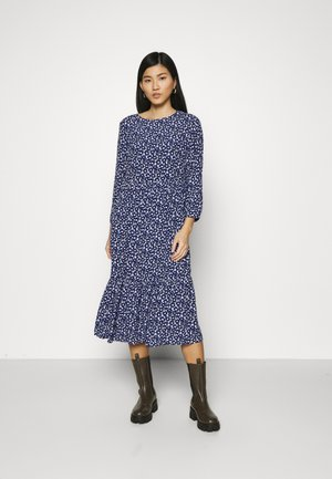 FLOUNCE MIDI - Day dress - navy